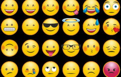 Emojis i arbejdsemails